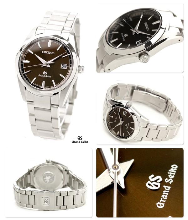quality design e910f 53b9e グランドセイコー SBGX073 クオーツ ブラウン メンズ腕時計 送料 ...